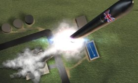 British launch plans finally lift off