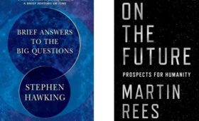 Reviews: Brief Answers to the Big Questions and On the Future