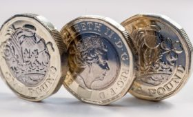 Sterling eases as investors book profits from gains