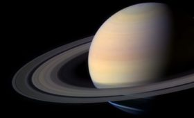 Saturn's Iconic Rings Surprisingly Young, Cassini Data Show