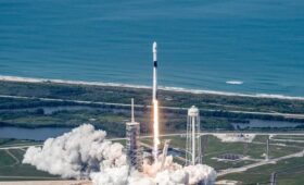 SpaceX's workhorse rocket takes flight