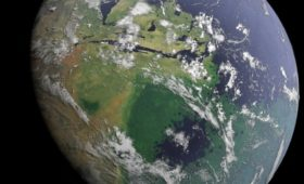 The Earth, space settlement, and the hard drive analogy