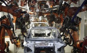 German manufacturing contracts for third month in a row