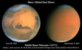 Mars atmospheric dust and human exploration