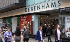 Debenhams shares drop after full year profit warning