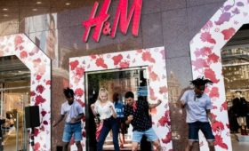 H&M quarterly profit falls less than expected