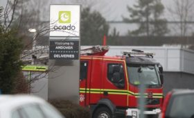 Ocado sales growth held back by fire at centre