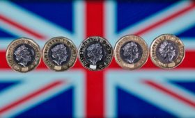 Sterling slips on risk of snap election, no-deal Brexit