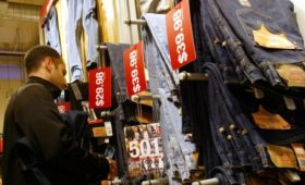 Levi Strauss revenue rises in first post-IPO report