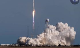 Tenth Antares Booster Ferries NG-11 Cygnus on Late-Afternoon Flight to Space Station