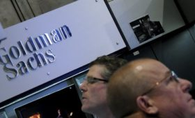 Goldman Sachs sees quarterly profit fall 20%