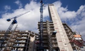 Pace of construction activity growth slows in March