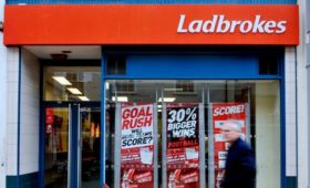 Ladbrokes owner's quarterly gaming revenue up 8%