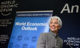 IMF's Lagarde says global growth outlook 'precarious'