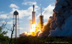 Where to Watch Wednesday's Falcon Heavy Launch Locally