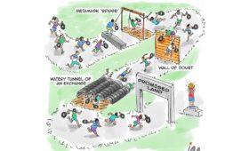 Cartoon: Obstacle Course   Bitcoin Magazine