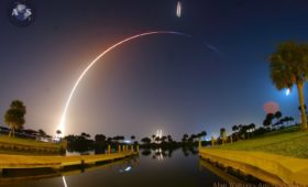 Falcon Heavy Delivers STP-2 on Spectacular First 'Night Shift' Launch