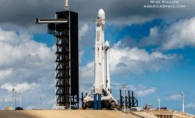 Falcon Heavy Ready for First Night Launch with Multitude of Payloads