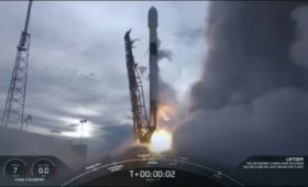 SpaceX Launches 10th Mission of 2019 with AMOS-17