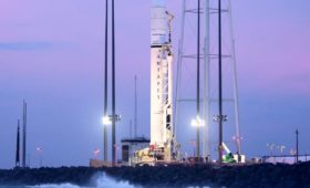Antares Ready for Saturday Launch from Virginia to Resupply ISS (NG-12)