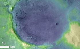 NASA's Next Mars Rover Will Explore Ancient Lakeshore for Martian Fossils