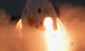 SpaceX Test Fires Crew Dragon's Abort Engines, Paves Way to In-Flight Abort Test