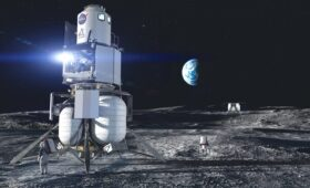 Blue Origin Completes SRR, Works 'Seamlessly' Towards Human Lunar Return