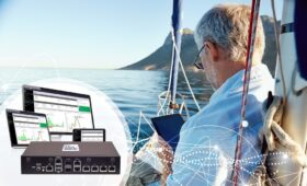 Connectivity demand booms as leisure vessels become safer places to work and rest