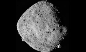 Why is asteroid Bennu ejecting particles into space?