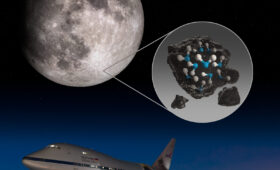 NASA's SOFIA Observatory Makes First Direct Detection of Water in Sunlit Lunar Soil