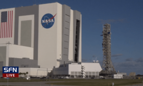 SLS Mobile Launcher returns to Vehicle Assembly Building