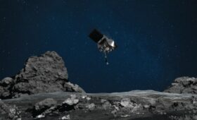 OSIRIS-REx spacecraft successfully touches asteroid