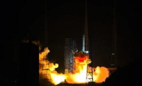 China launches geosynchronous Earth observation satellite