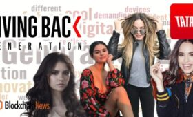 "Tatatu Launches ""Giving Back Generation"" Social Awareness Vodcast Starring Selena Gomez"