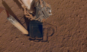 InSight's 'Mole' is Now Completely buried!