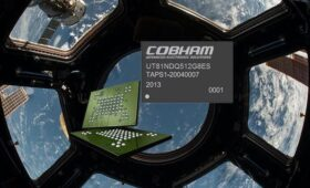 Cobham Advanced Electronic Solutions launches industry's highest density NAND flash memory module for space applications