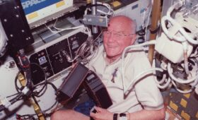 'Zero-G and I Feel Fine': Remembering John Glenn's Return to Space, OTD in 1998