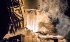 Photos: Antares blasts off from Virginia