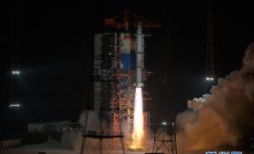 China launches three military spy satellites