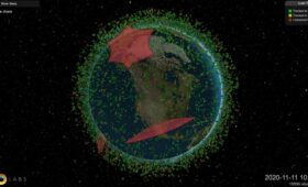 Terrify yourself with LeoLabs' visualization of satellites and space debris around Earth