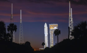 Atlas 5 rocket back on the launch pad for national security mission