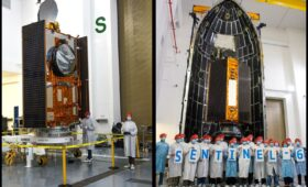 Sentinel 6A Encapsulated for Launch with SpaceX Nov 21