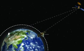 World-first as new real-time link between satellites promises quicker delivery of data and imagery across the globe