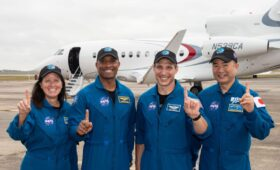 Crew-1 Arrives in Florida, Targets 14 Nov Launch