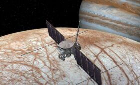Europa's Nightside Glows in the Dark