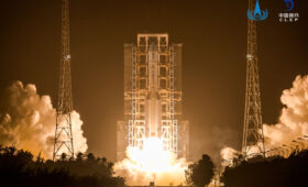 China launches ambitious mission to return lunar material to Earth