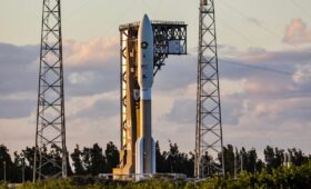 Atlas 5 rocket, NRO payload return to launch pad after repairs