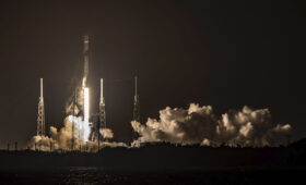 SpaceX launches 60 more Starlink satellites on 100th Falcon 9 flight
