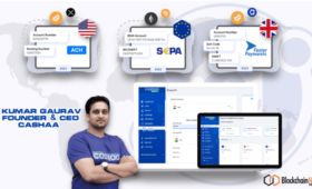 Cashaa Rolls Out The World's First Global Crypto-Friendly Banking Platform