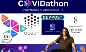 COVIDathon: Worldwide Blockchain and AI Communities Join in Hacking Over 100 Potential COVID-19 Solutions